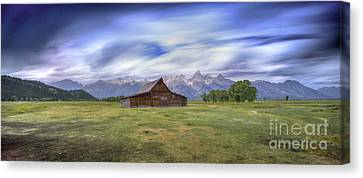 Western Ma Canvas Print - 210 Seconds Of Mormon Row by Marco Crupi