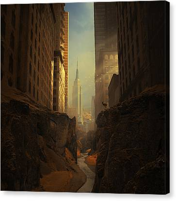 Architecture Canvas Print - 2146 by Michal Karcz