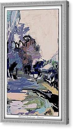 Abstract Landscape Canvas Print by Pemaro