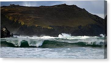 Clogher Beach Canvas Print by Barbara Walsh