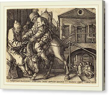 Heinrich Aldegrever German, 1502-1555-1561 Canvas Print by Litz Collection