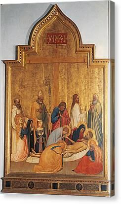 Italy, Tuscany, Florence, Uffizi Canvas Print by Everett