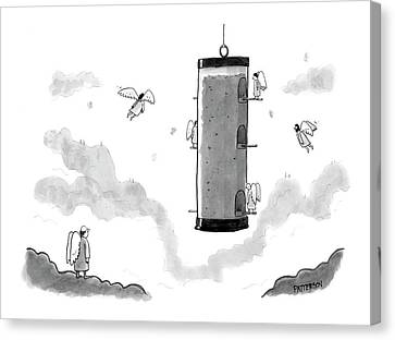 New Yorker July 23rd, 2007 Canvas Print
