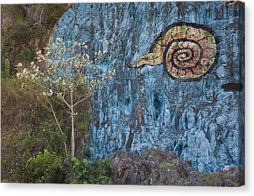 Mural Canvas Print - Cuba, Pinar Del Rio Province, Vinales by Walter Bibikow
