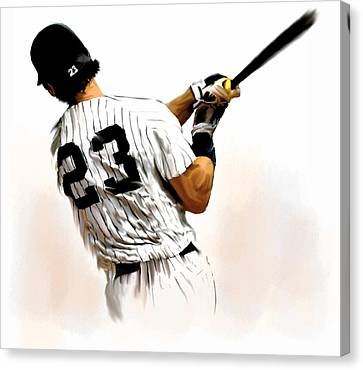 23   Don Mattingly  Canvas Print