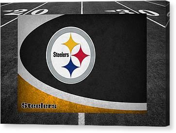 Pittsburgh Steelers Canvas Print by Joe Hamilton