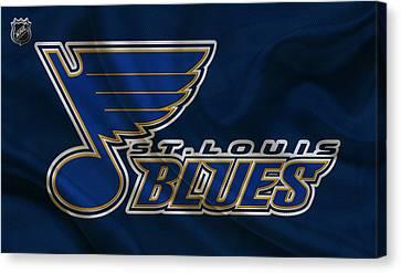St Louis Blues Canvas Print by Joe Hamilton
