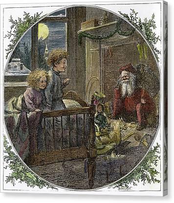 Thomas Nast Santa Claus Canvas Print