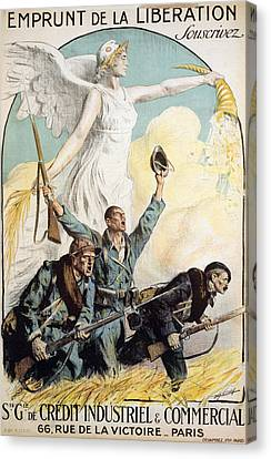World War I French Poster Canvas Print by Granger