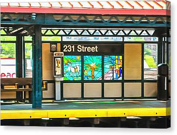 231 Street Subway Canvas Print