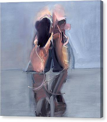 Ballet Slippers Canvas Print - Rcnpaintings.com by Chris N Rohrbach