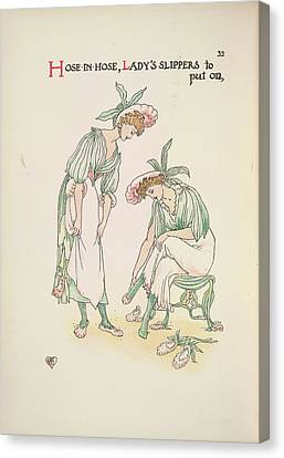 A Flower Wedding Canvas Print