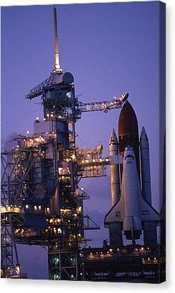 Space Shuttle Challenger  Canvas Print by Retro Images Archive