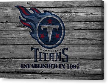 Tennessee Titans Canvas Print