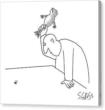 New Yorker November 27th, 2006 Canvas Print by Sam Gross