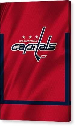 Washington Capitals Canvas Print by Joe Hamilton