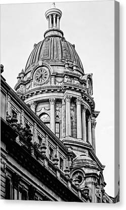 Ny Police Department Canvas Print - 240 Centre Street by JC Findley