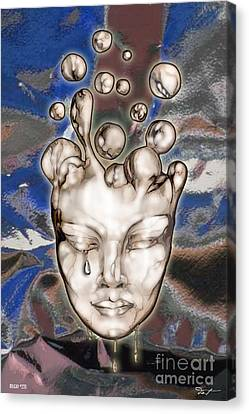 24x36 Misery 220 Canvas Print by Dia T