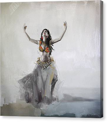 Belly Dancer 5 Canvas Print by Corporate Art Task Force