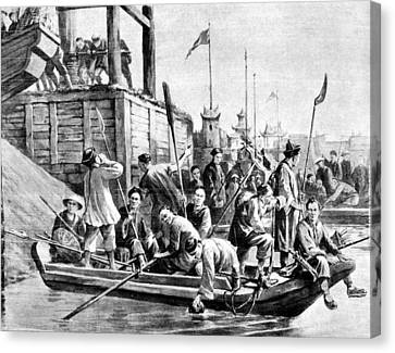 China Boxer Rebellion Canvas Print