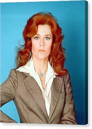 Jane Fonda Canvas Print by Silver Screen
