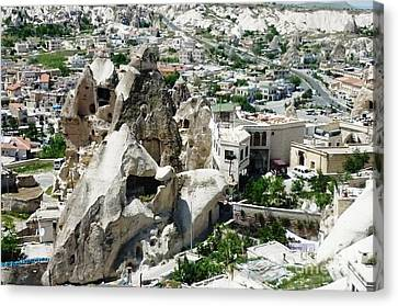 Nevsehir Landscape Canvas Print by Ted Pollard
