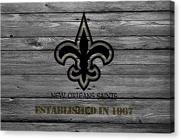 New Orleans Saints Canvas Print by Joe Hamilton