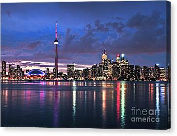 Toronto Skyline Canvas Print by Elena Elisseeva
