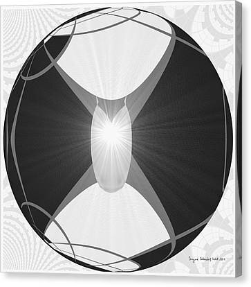 250 - The Center   Canvas Print by Irmgard Schoendorf Welch