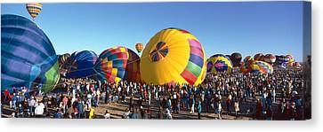 25th Albuquerque International Balloon Canvas Print by Panoramic Images