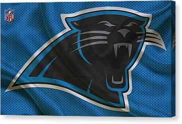 Carolina Panthers Canvas Print by Joe Hamilton