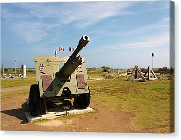 France, Normandy, D-day Beaches Area Canvas Print by Walter Bibikow