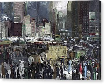 New York 1911 Canvas Print