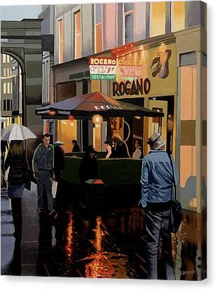 The Merchant City Canvas Print