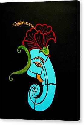 26 Uddana Ganesh Canvas Print