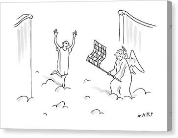 New Yorker May 7th, 2007 Canvas Print by Kim Warp