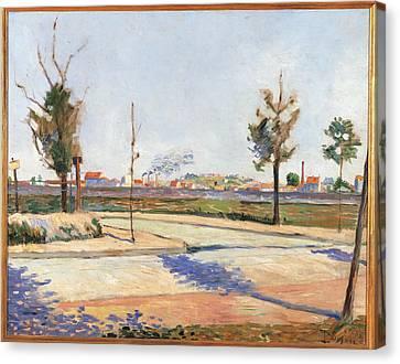 Gennevilliers Canvas Print - France, Ile De France, Paris, Muse by Everett