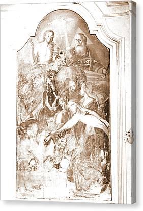Abruzzo, Pescara, Penne, Madonna Del Carmine Canvas Print by Litz Collection
