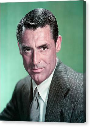 Cary Grant Canvas Print by Silver Screen