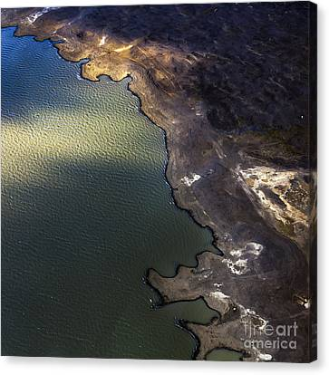 Iceland Aerial Photo Canvas Print by Gunnar Orn Arnason
