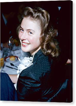 Ingrid Bergman Canvas Print