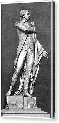 Marquis De Lafayette Canvas Print by Granger