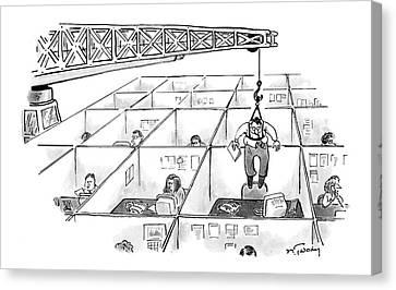 New Yorker November 28th, 2005 Canvas Print