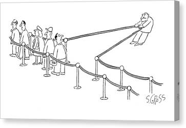 New Yorker September 28th, 2009 Canvas Print