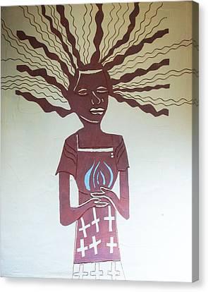 Keys To Heaven Canvas Print - The Wise Virgin by Gloria Ssali