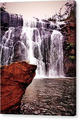 Waterfalls Canvas Print by Girish J