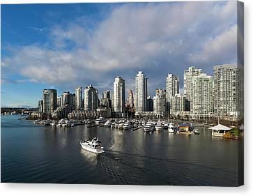 Canada, British Columbia, Vancouver Canvas Print by Walter Bibikow
