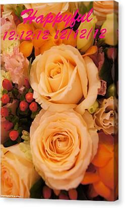 Flowers For You Canvas Print by Gornganogphatchara Kalapun