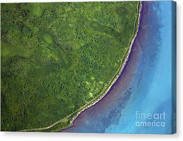 Iceland Aerial Photo Canvas Print
