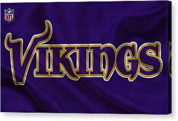 Vikings Canvas Print - Minnesota Vikings by Joe Hamilton